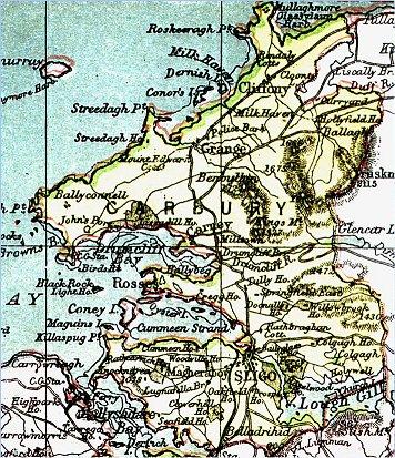map-carbury
